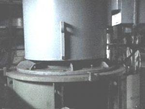 Silnik 6kV P=1000kW przed modernizacją