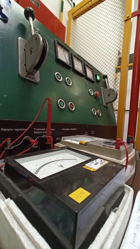 badanie sprzętu dielektrycznego